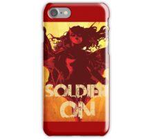 IwillSoldierON iPhone Case/Skin