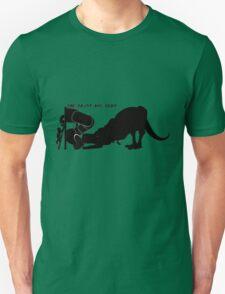 Dinosaurs are dicks. (Slide) T-Shirt