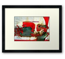 Ruby The Tank Engine Toot Toot - All Aboard  Framed Print