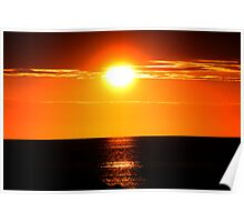 Early Sunset Poster