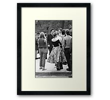 Rock and Roll Radio Campaign march, 1976 Framed Print