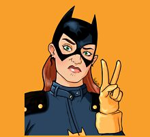 Batgirl Selfie Womens Fitted T-Shirt