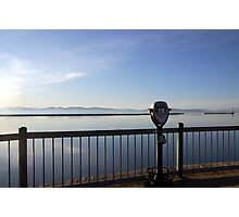 Silent View - Lake Champlain Photographic Print