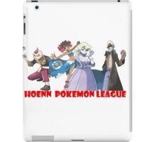 Pokemon - hoenn league iPad Case/Skin
