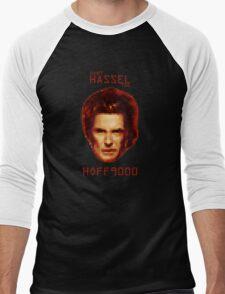 Don't HASSEL the HOFF9000 Men's Baseball ¾ T-Shirt
