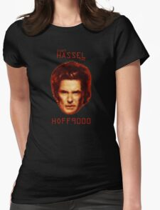 Don't HASSEL the HOFF9000 Womens Fitted T-Shirt