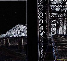 Neon Bridge. by Tim Bell