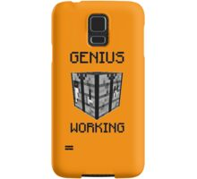 Genius working Samsung Galaxy Case/Skin