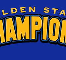Golden State Champions by themarvdesigns