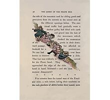 The Queen of Pirate Isle Bret Harte, Edmund Evans, Kate Greenaway 1886 0034 The Hillside Slide Photographic Print