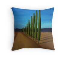 Cypress Road - Perspective study Throw Pillow