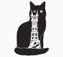 Eye of Cat or Sauron One Piece - Short Sleeve