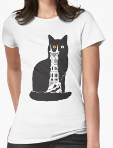 Eye of Cat or Sauron Womens Fitted T-Shirt