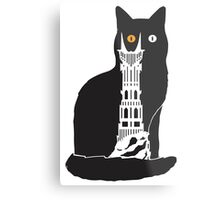Eye of Cat or Sauron Metal Print