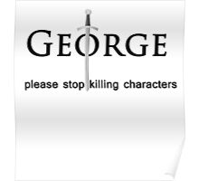 please stop killing characters Poster