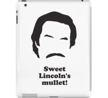 Ron Burgundy - Sweet Lincolns Mullet! iPad Case/Skin
