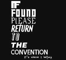 If Found 2- White Unisex T-Shirt