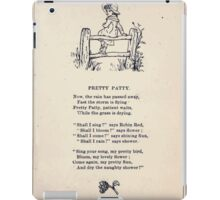 Miniature Under the Window Pictures & Rhymes for Children Kate Greenaway 1880 0039 Pretty Patty iPad Case/Skin