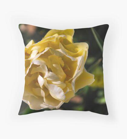 A Rose or a Tulip.....? Throw Pillow