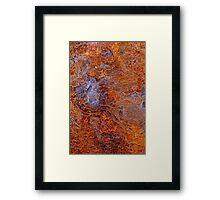 The West Pier ~ Girder Abstract Framed Print