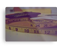 Uncoiled Measures Metal Print
