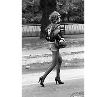 Rock and Roll girl, 1976 Photographic Print