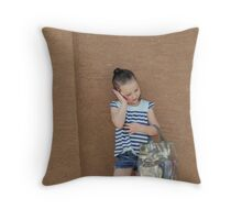 Little Miss Grown Up Throw Pillow