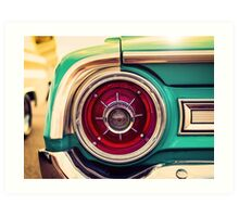 1964 Ford Galaxie 500 XL Tail Light Art Print