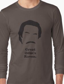 Ron Burgundy - Great Odin's Raven! Long Sleeve T-Shirt