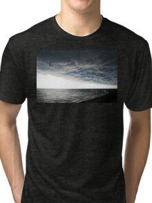 No Fear - Beach Art By Sharon Cummings Tri-blend T-Shirt