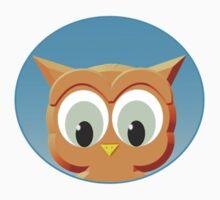 Face Of A Little Owl Kids Tee