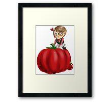 Hannibal vegetables - Tomato Framed Print