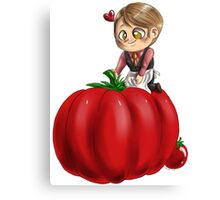 Hannibal vegetables - Tomato Canvas Print