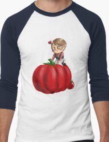 Hannibal vegetables - Tomato Men's Baseball ¾ T-Shirt
