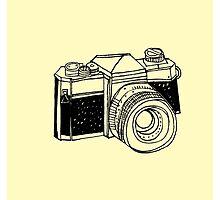 Vintage Camera by Deabrazil