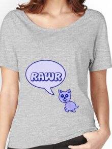 Rawr Kitty  Women's Relaxed Fit T-Shirt