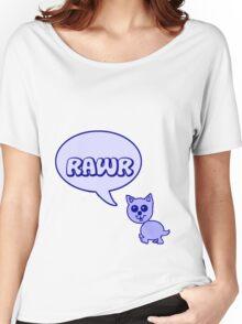 Rawr Kitty  Women's Relaxed Fit T-Shirt