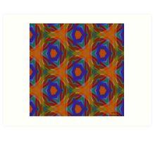 ( BANAN ) ERIC WHITEMAN  ART   Art Print