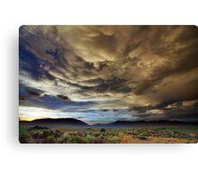 Post tstorm Canvas Print