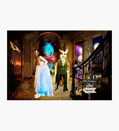 Alice's Surprise Photographic Print