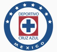 Cruz Azul Logo T-Shirt by onenil