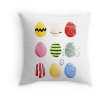 Li'l Eggs Throw Pillow