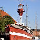 Olde Lightship, Copenhagen by James J. Ravenel, III