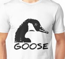 Canadian Goose Black and White Unisex T-Shirt