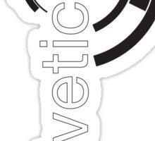 Helvetica + Sticker