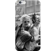 The Flying Saucers rockabilly band, 1976 iPhone Case/Skin
