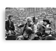 The Flying Saucers rockabilly band, 1976 Canvas Print