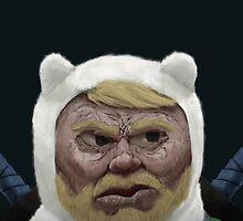 Adventure Time FINN by CaptainPowder