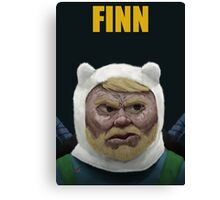 Adventure Time FINN Canvas Print