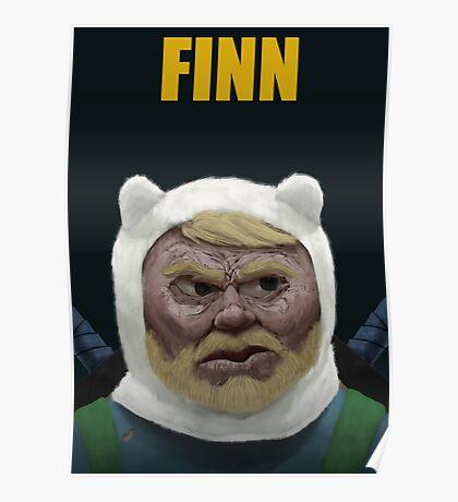Adventure Time FINN Poster
